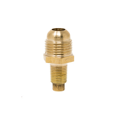 """Propane Orifice Connector Brass Tube Fitting 3/8"""" flare x 1/8"""" MNPT by Gas One"""
