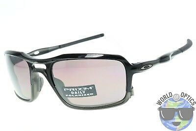 0927e2e1a9 Oakley Triggerman Sunglasses OO9266-06 Polished Black w  Prizm Daily  Polarized