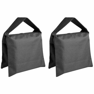 2X(Heavy Duty Photographic Sandbag Studio Video Sand Bag for Light Stands, T6X8