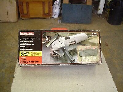 "New Craftsman Part # 11650 4"" Angle Grinder Kit"