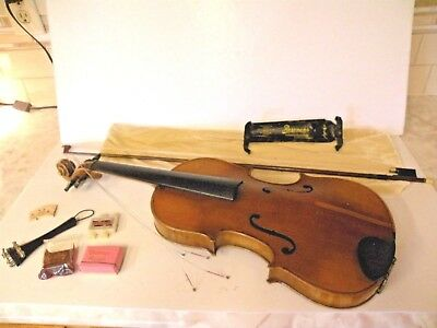 August Geisenhof Landshut Stradivarius Model Violin J W Pepper Resonans Shoulder