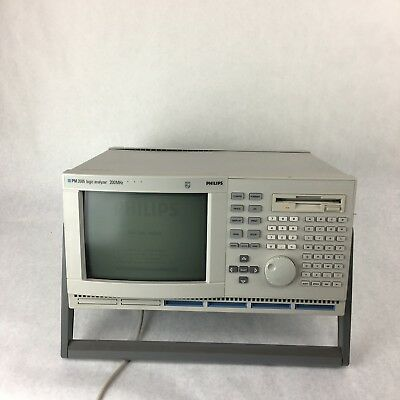 Phillips PM3585 200MHZ Logic Analyzer With Software Installed