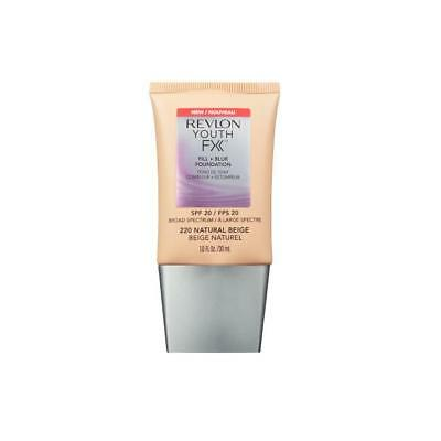 Youth FX Fill + Blur Foundation 220Natural Beige SPF20 30ml