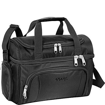 eBags Crew Cooler II Bag, Blk 840D Twisted Polyester, w/ Replaceable PEVA Liner
