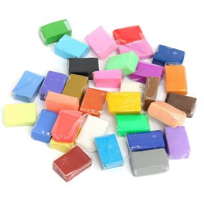 5 Tools+24 Colors Soft clay Fimo Block Modelling Moulding DIY Toys, 24 Colour FR