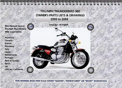 triumph thunderbird 900 parts manual all bikes 95 03 a4 wire rh picclick co uk Custom Triumph Thunderbird 900 Triumph Thunderbird 900 Cafe Racer