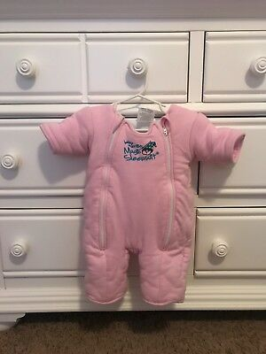 Merlin's Magic Sleepsuit pink size large