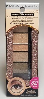 Physicians Formula Shimmer Strips Shadow & Liner Palette #6407 Nude Eyes