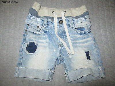 Pre-loved Rock Your Baby Kid Size 5 Shorts excellent condition