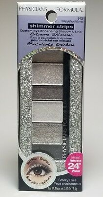 Physicians Formula Shimmer Strips Shadow and Liner #6408 Smoky Eyes