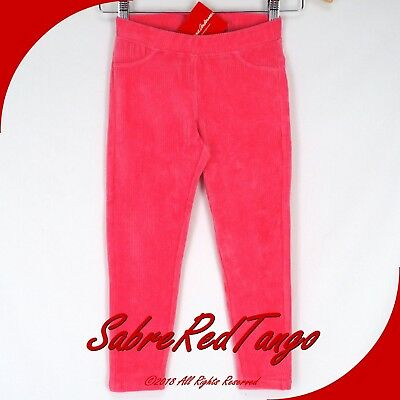 Nwt Hanna Andersson Ribbed Velour Skinny Pants Leggings Cottage Pink 130 8
