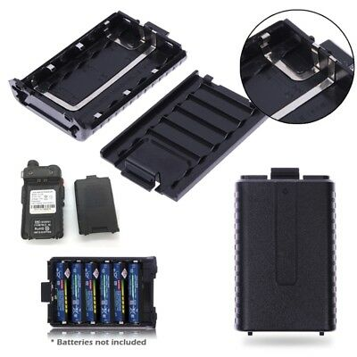 6x AAA Extended Battery Charging Case Box for Baofeng UV-5R 5RE Two Way Radio