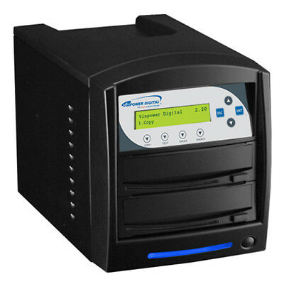 1-1 Network DVD CD Duplicator USB 3.0 + 320GB HDD M-Disc SHARKNET-1T-DVD-BK