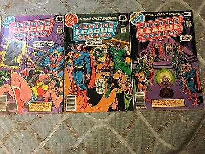 justice league #166-168 (identity crises issues)