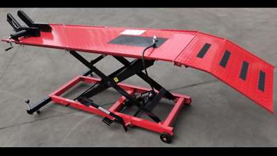 Motorcycle Lift Bench, Motorcycle Hoist, Air /hyd Lift Work Bench (Mb6003R)