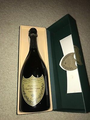 NEW UNOPENED VINTAGE 1995 DOM PERIGNON CHAMPAGNE 750ML with GIFT BOX FRANCE