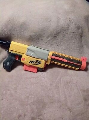 NERF N Strike Longshot Recon CS-6 Dart Gun Blaster Rifle W/clip, 12 new darts