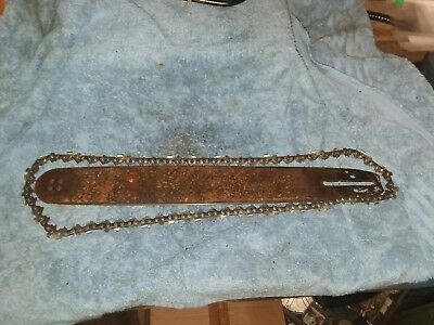 "Jonsered 451 E 16"" bar and chain  chainsaw part only bin1000"