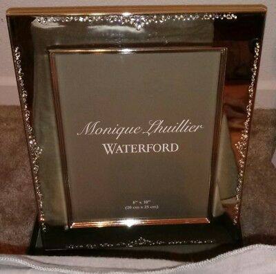Waterford Crystal Picture Frame 8 X 10 Modern Love Monique
