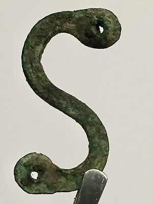 Ancient Roman Artifacts, MEDICAL Bronze  AMULET PENDANT, SCARCE