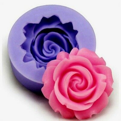Aus Seller....FLOWER....SMALL ROSE SILICONE MOULD...Fondant/chocolate....new