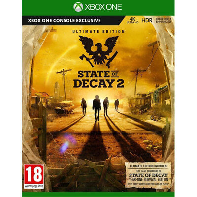 State Of Decay 2 Ultimate Edition Xbox One Game, BRAND NEW