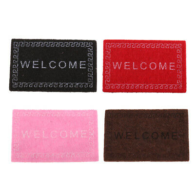 Dolls House Miniature 1: 12 Scale Floor Covering Carpet Rug Area Woven Rug