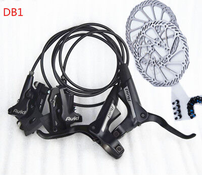 Brand new AVID DB3 MTB Bike Hydraulic Disc Brake Set Front and Rear db1 55 4476e