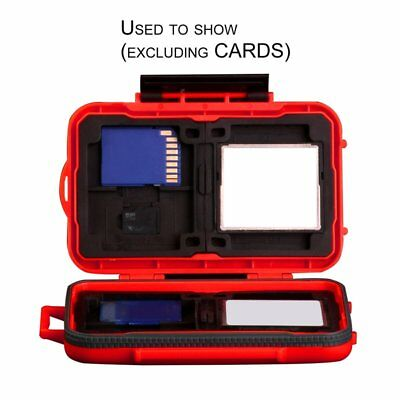24 Slots Memory Card Storage Carrying Case Protector Box Holder for SD CF TF OK