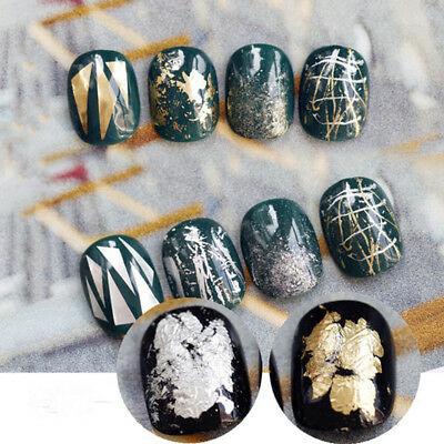 Fashion Nail Art Transfer Foil Nail Sticker Tip Decal Decoration Nail Sticker