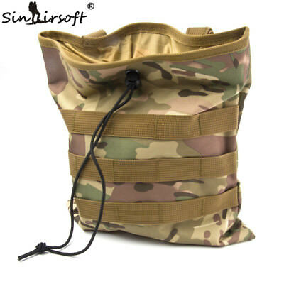 Tactical Recovery Dump Pouch Molle bag Military Paintball Hunting Folding Mag