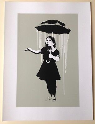 Banksy - Nola  Screen Print