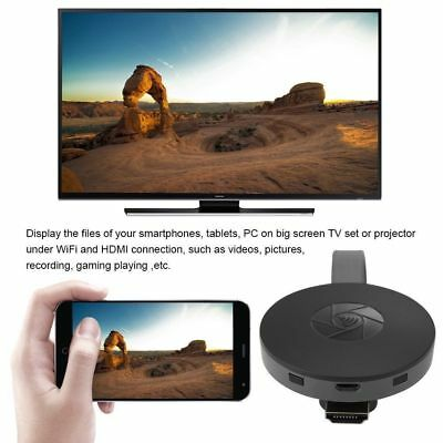 Dispositivo Cromecast Clone Miracast Streaming Wireless Hdmi Media Player Mirror