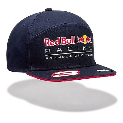 OFFICIAL F1 Red Bull Racing Daniel RICCIARDO Flat Brim Cap Hat MENS – NEW