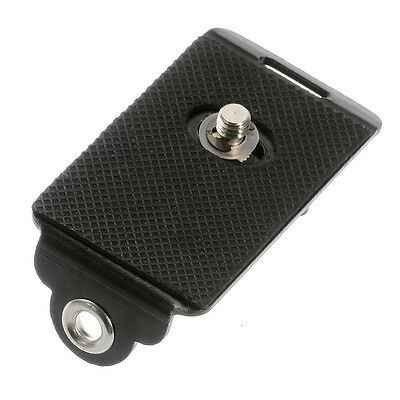 """Quick Release Mounting Plate With 1/4"""" Screw For Camera Rapid Shoulder Strap"""