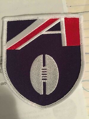 Afl Embroidered Sew On Badge