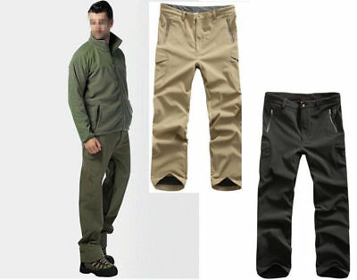 Men's Camouflage Waterproof Pants Outdoor Lurker Shark skin Soft Shell TAD V4.0
