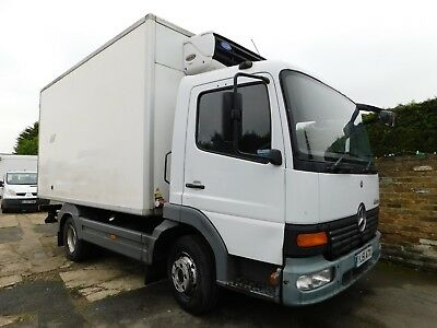 MERCEDES Atego Fridge Lorry Tested In Excellent Order