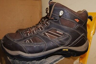 a0a76aedb2c HYENA RAVINE LEATHER Hiker Steel Toe Breathable Safety Boots SZ 10 /EU 44  -AA558