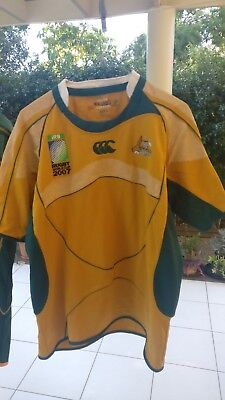 Wallabies Australia 2007 Rugby World Cup Large jersey