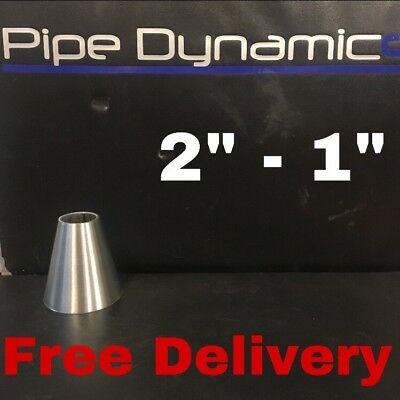 """2"""" inch to 1"""" inch 316L Stainless Steel Exhaust Reducer Cone"""