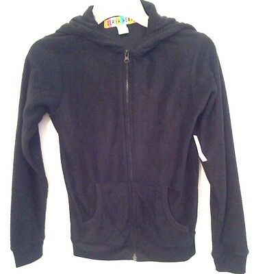 DEREK HEART - SPECIAL- Girl Size Small Black Hoodie Jackets Quality Comfortable