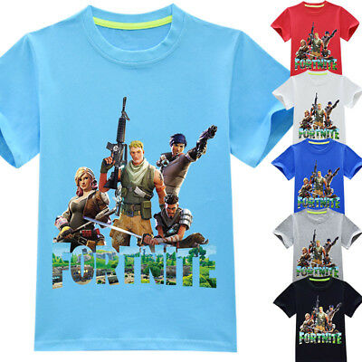NEW Fortnite Game Figure  T-shirts Tops Shirts Costume Boys tshirts Party gift