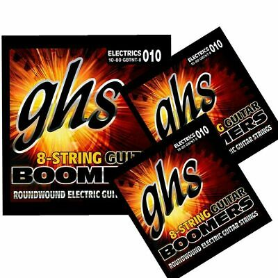 6 Sets GHS 10-46 Boomers Electric Guitar String Set Light GBL  •SPARPACK•