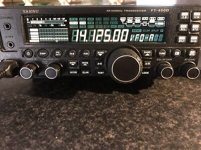 Yaesu FT-450D HF + 6mtrs  Base Transceiver With Built in ATU.