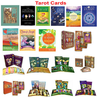 Tarot Cards Deck Angel Art Animal Messages Oceanic Archangel Dragon Oracle Pack
