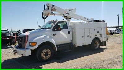 2011 Ford F-650 F650 Bucket Truck Altec AT37-G Automatic Air Brakes
