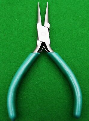 "Needle nose pliers 6"" with V spring"