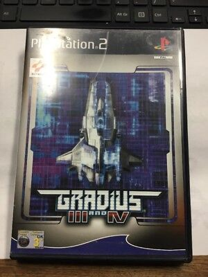 Gradius Iii And Iv (Nr Mint Disc)  ~ Sony Playstation 2 Ps2 ~ Sameday 1St Rec ~