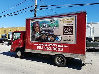 Advertising/Delivery Box Truck